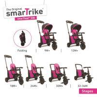 Smart Trike Tříkolka 7 v 1 Smartfold 500 růžová 2