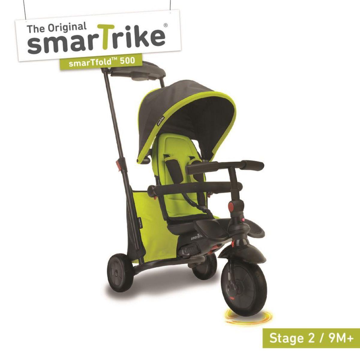 Smart Trike Tříkolka 7 v 1 Smartfold 500 zelená