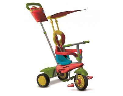 Smart Trike Tříkolka Joy 4v1 tříbarevná