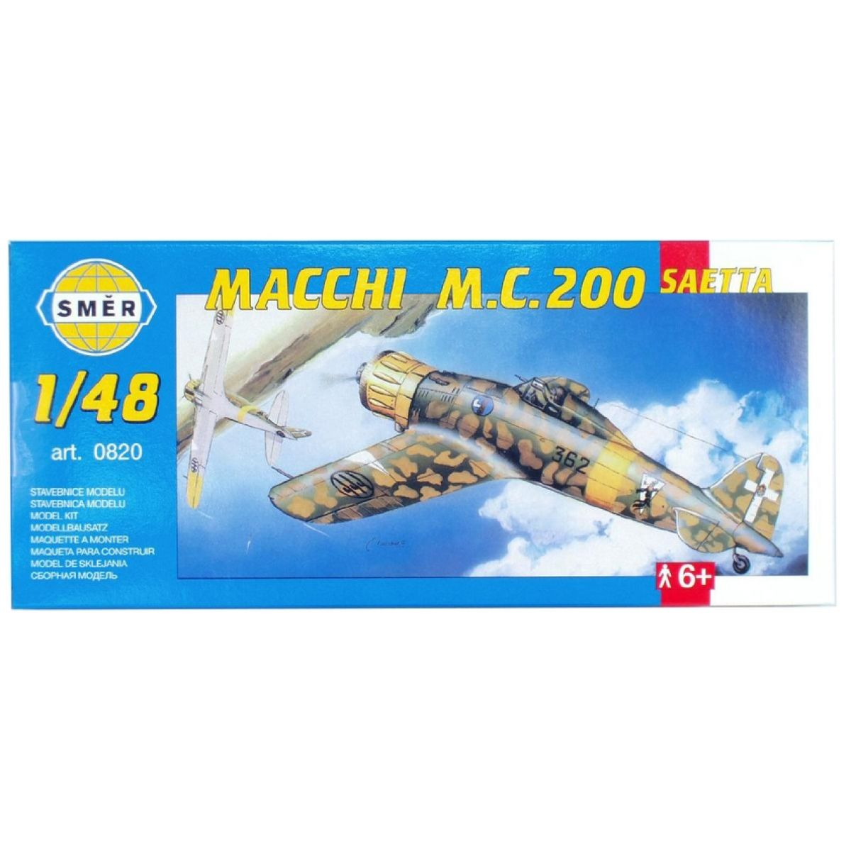 Směr Model Macchi M.C. 200 Saetta