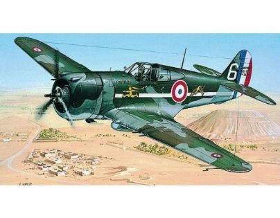 Směr Curtiss P-36/H.75 Hawk Modely letadel