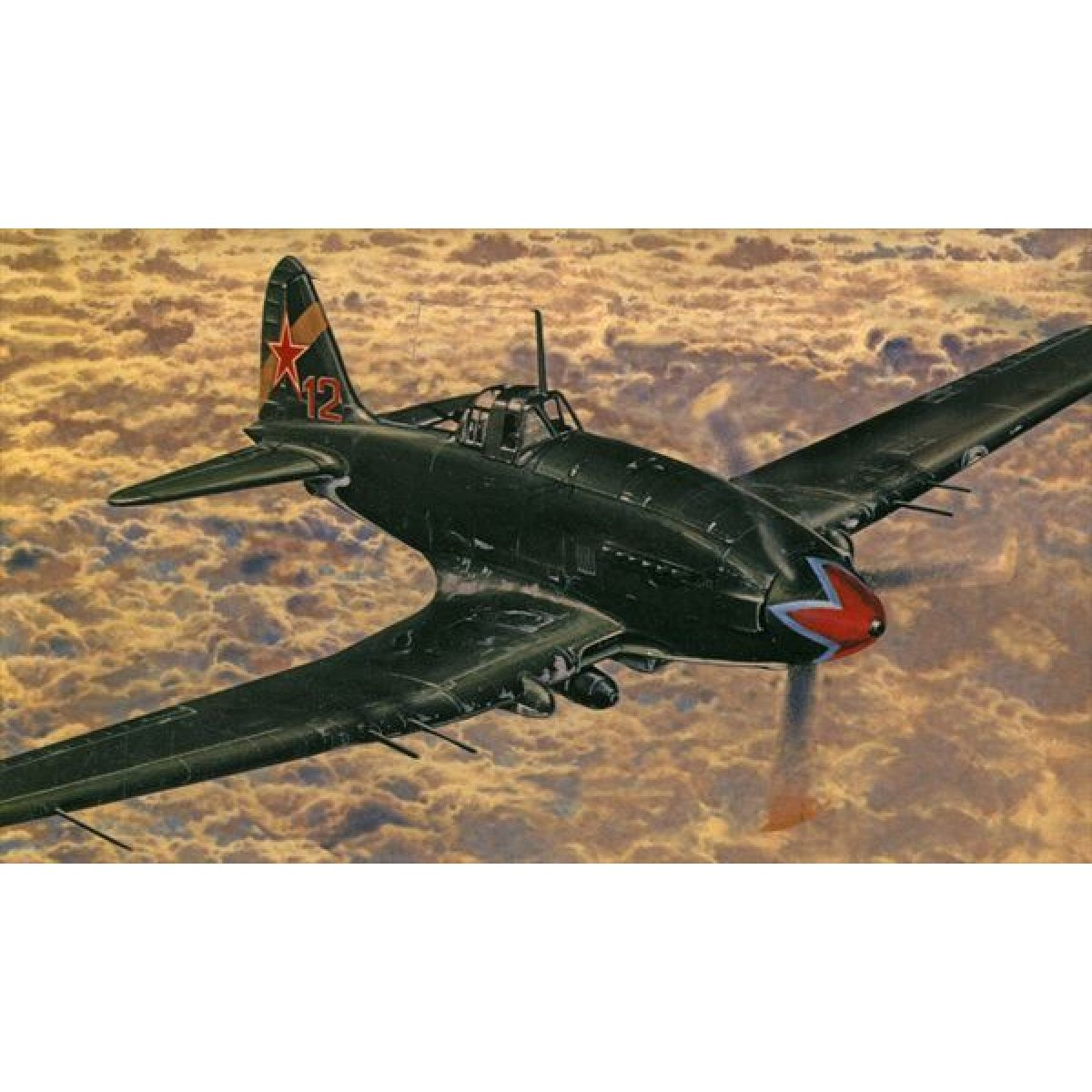 Směr Model letadla 1:72 Iljušin II-10-aVIA B-33