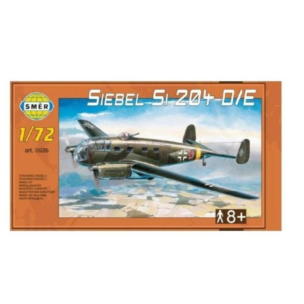 Směr Model Siebel Si 204 DE 1:72