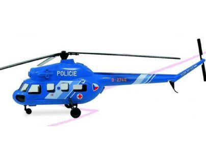 Směr Model Kliklak Vrtulník Mil Mi 2 Policie