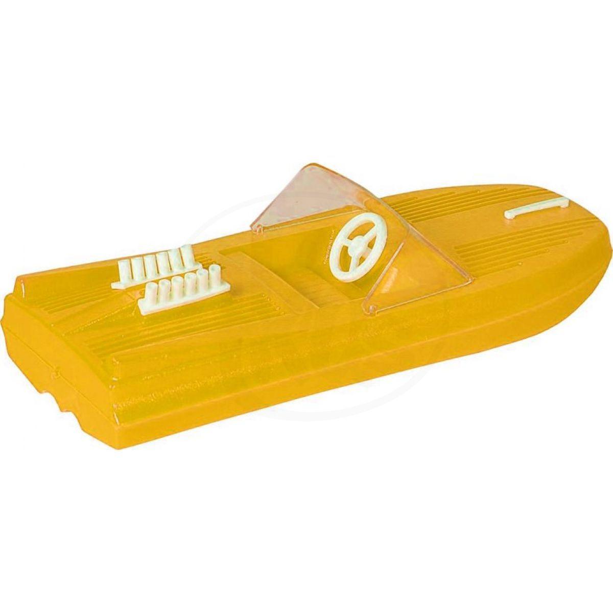 Směr Motorový člun 25 cm žlutý
