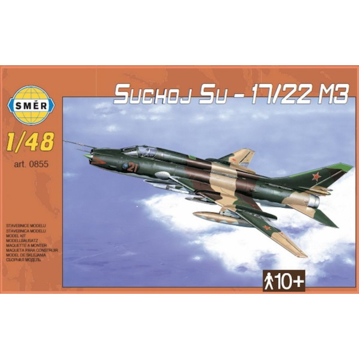 Směr Suchoj SU - 17 - 22 M3 40 dílků