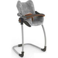 Smoby 3v1 Autosedačka a židlička Maxi Cosi Quinny pro panenky šedá