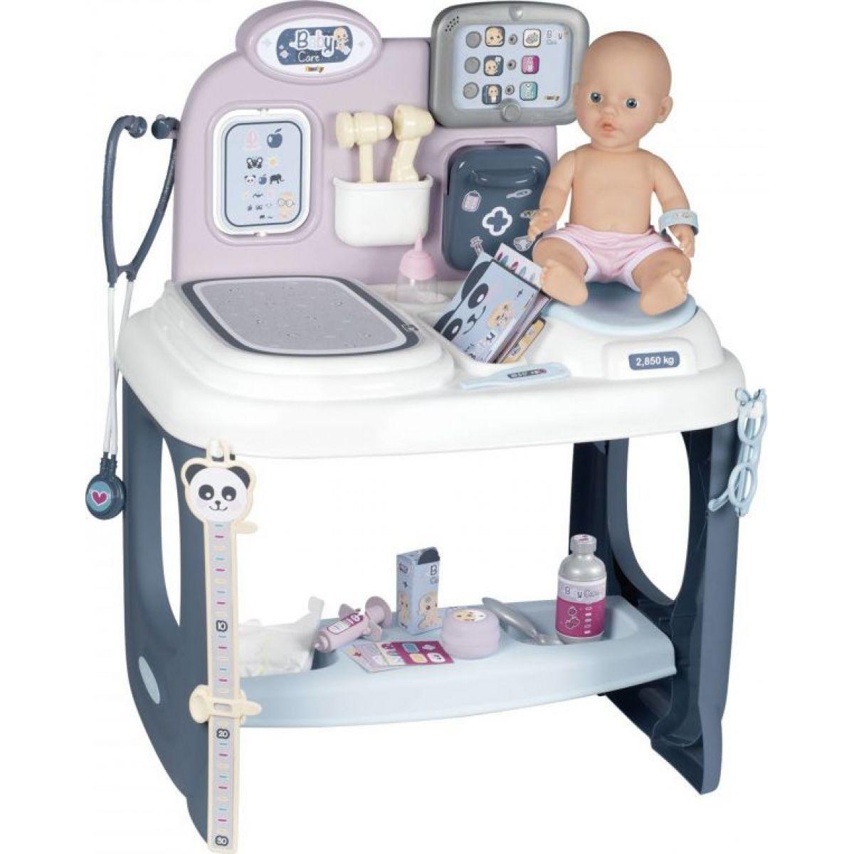Smoby Baby Care Center s príslušenstvom