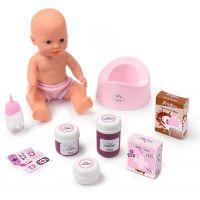 Smoby Baby Nurse 2v1 postýlka a přebalovací pult 3