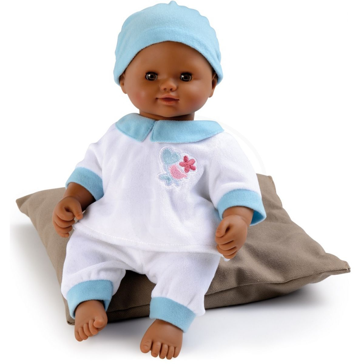 smoby baby nurse panenka s tmavou plet 32cm 4kids. Black Bedroom Furniture Sets. Home Design Ideas