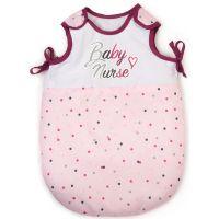 Smoby Baby Nurse Spací pytel pro panenky suchý zip 0350