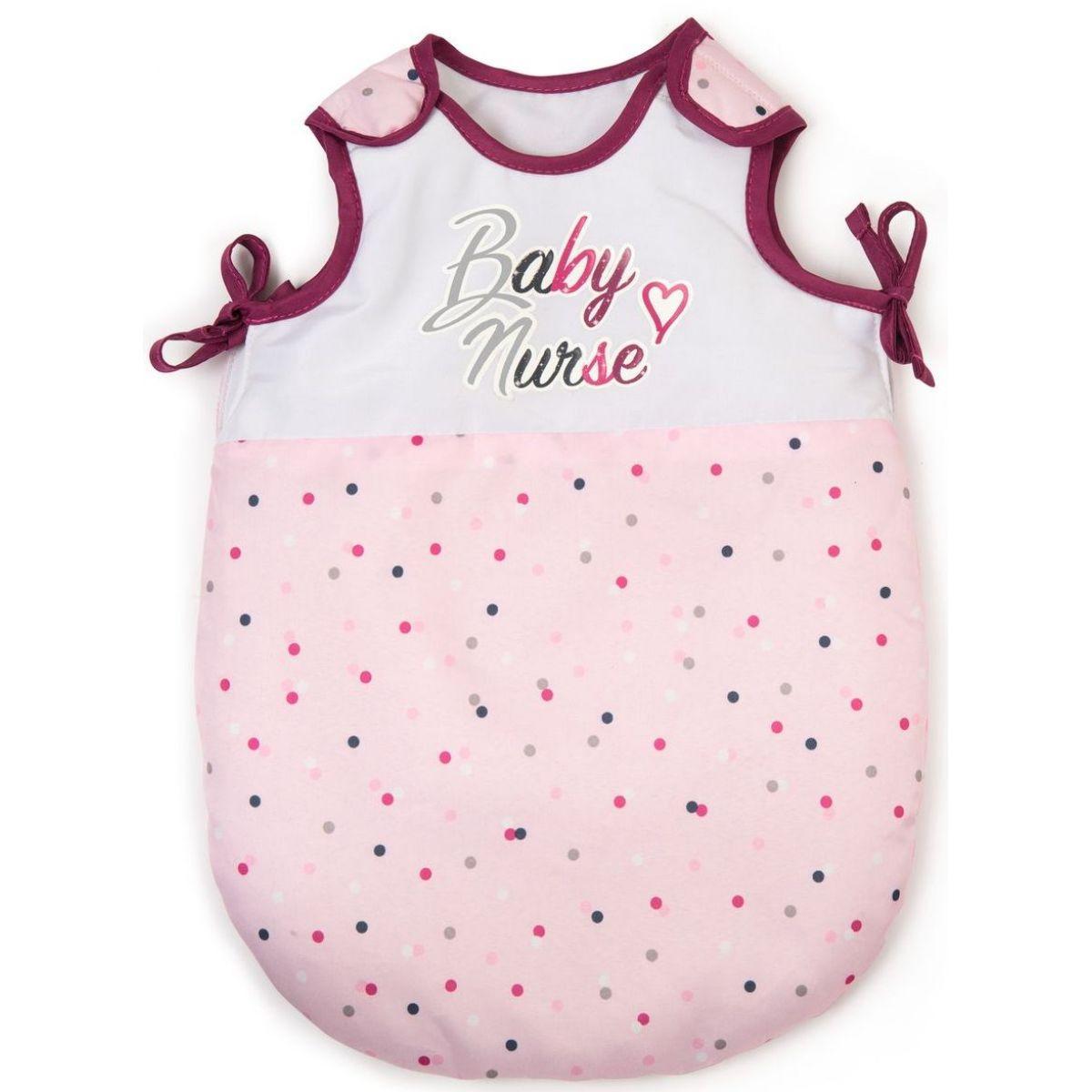 Smoby Baby Nurse Spací pytel pro panenky suchý zip