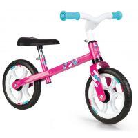 Smoby Balanční odrážedlo Bike růžovo-bílé