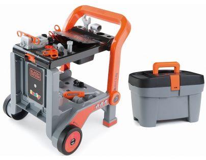 Smoby Black & Decker Pracovní vozík s kufříkem