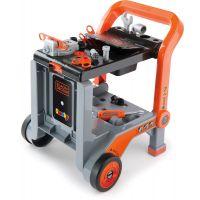 Smoby Black & Decker Pracovní vozík s kufříkem 2