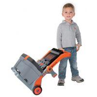Smoby Black & Decker Pracovní vozík s kufříkem 3