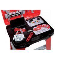 Smoby Black & Decker Dílna pracovní stůl v kufříku 3