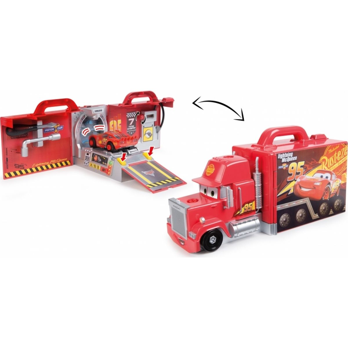 Smoby Cars 3 Mack Truck simulátor