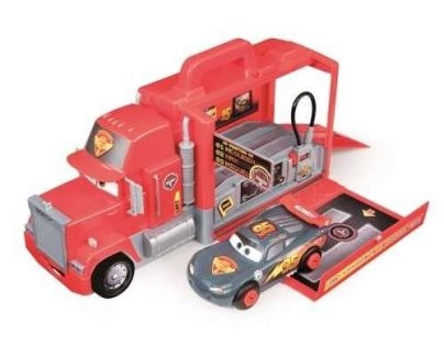 Smoby Cars Mac Truck Carbone Pit stop
