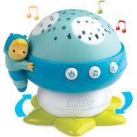 Smoby Cotoons Houbička hudební strojek 2 druhy Modrý
