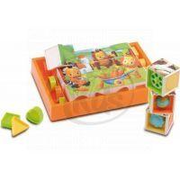 SMOBY 211126 - Kostky puzzle s vkládačkou Cotoons