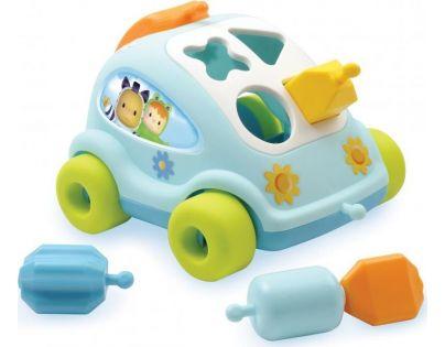 Smoby Cotoons Vkládačka Modré auto