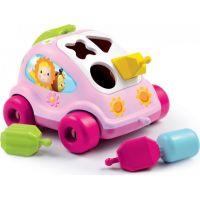Smoby Cotoons Vkládačka Růžové auto