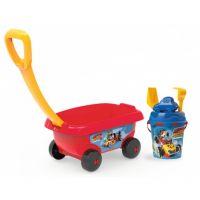 Smoby Dětský vozík na tahání Disney Mickey