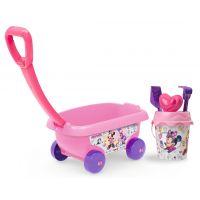 Smoby Dětský vozík na tahání Disney Minnie