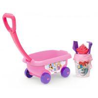 Smoby Dětský vozík na tahání Disney Princess