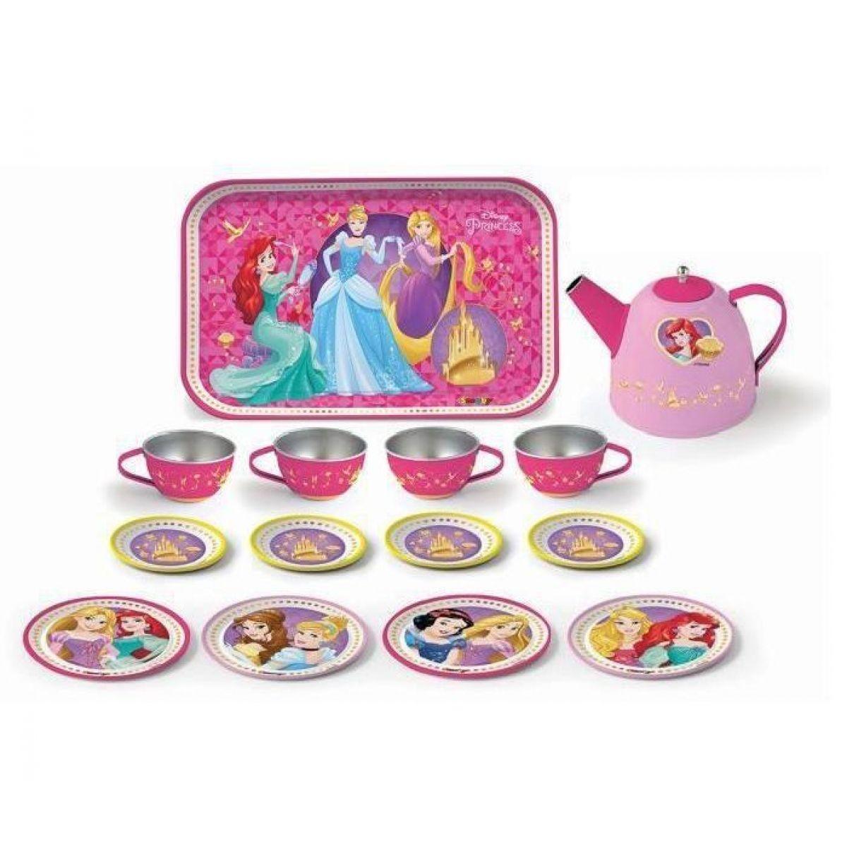 Smoby Disney Princess Čajový set kovový Smoby