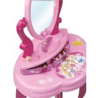 Smoby Disney Princess Toaletní stolek se židličkou 4