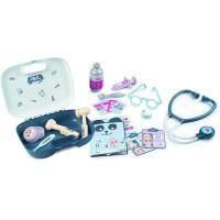 Smoby Doktorský kufřík Baby Care 19 doplňků