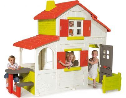 Smoby 320023 - Domeček Duplex