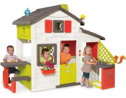 Smoby Domeček Friends House s kuchyní a vodou
