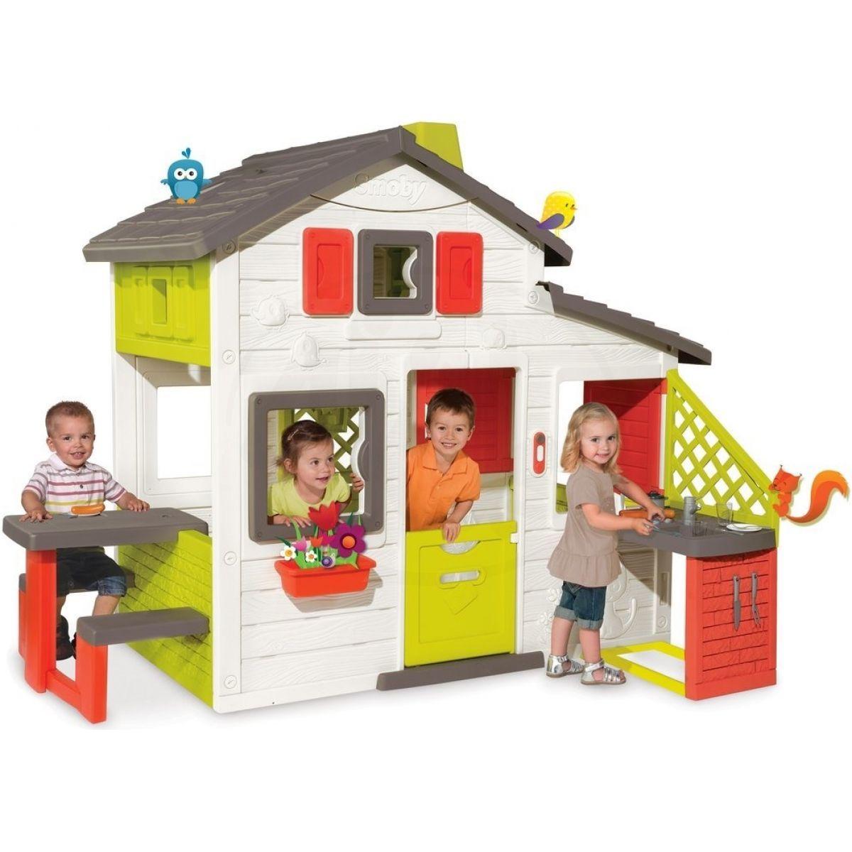 smoby dome ek friends house s kuchyn 4kids. Black Bedroom Furniture Sets. Home Design Ideas