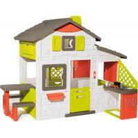 Smoby Domeček Neo Friends House s kuchyní rozšiřitelný
