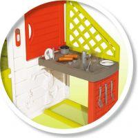 Smoby Domeček Neo Friends House s kuchyní rozšiřitelný 5