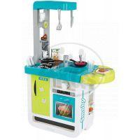 Smoby Kuchyňka Bon Appetit Cherry elektronická modro-zelená