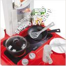 Smoby Kuchyňka Bon Appetit elektronická červená 3