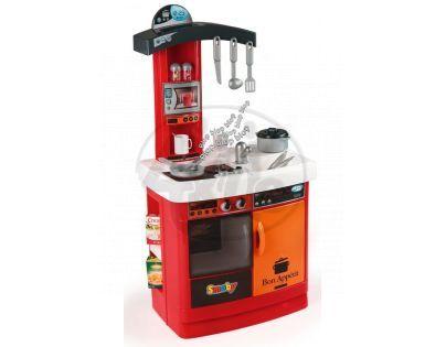 Smoby 024134 - Kuchyňka Bon Appetit - červená elektronická