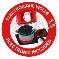 Smoby 024134 - Kuchyňka Bon Appetit - červená elektronická 4