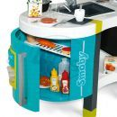 Smoby Kuchyňka French Touch elektronická modrozelená 4