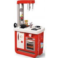 Smoby Kuchyňka Bon Appetit červenobílá elektronická