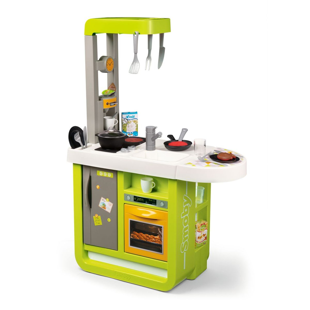 Smoby Kuchyňka Bon Appetit Cherry elektronická zeleno-žlutá