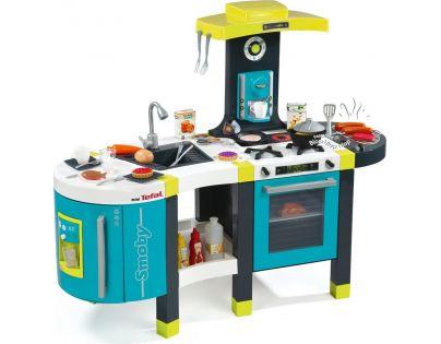 Smoby Kuchyňka French Touch elektronická modrozelená