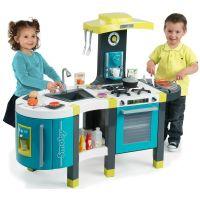 Smoby Kuchyňka French Touch elektronická modrozelená 2