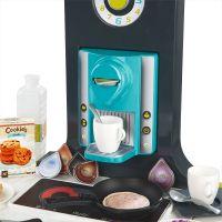 Smoby Kuchyňka French Touch elektronická modrozelená 5