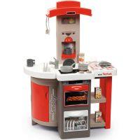 Smoby Kuchyňka Tefal skládací elektronická červená 2