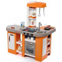 Smoby Kuchyňka Tefal Studio XL Bubble oranžovošedá elektronická